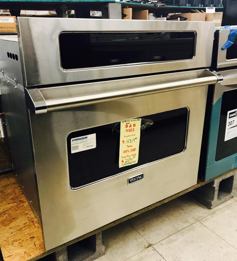 Viking Wall Oven $2,591.40