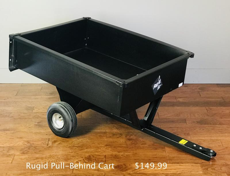 Rigid 17cu ft cart $149.99